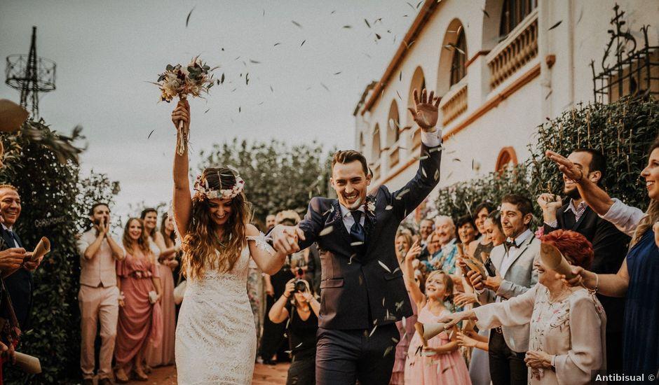 La boda de Adrià y Alba en L' Ametlla Del Valles, Barcelona
