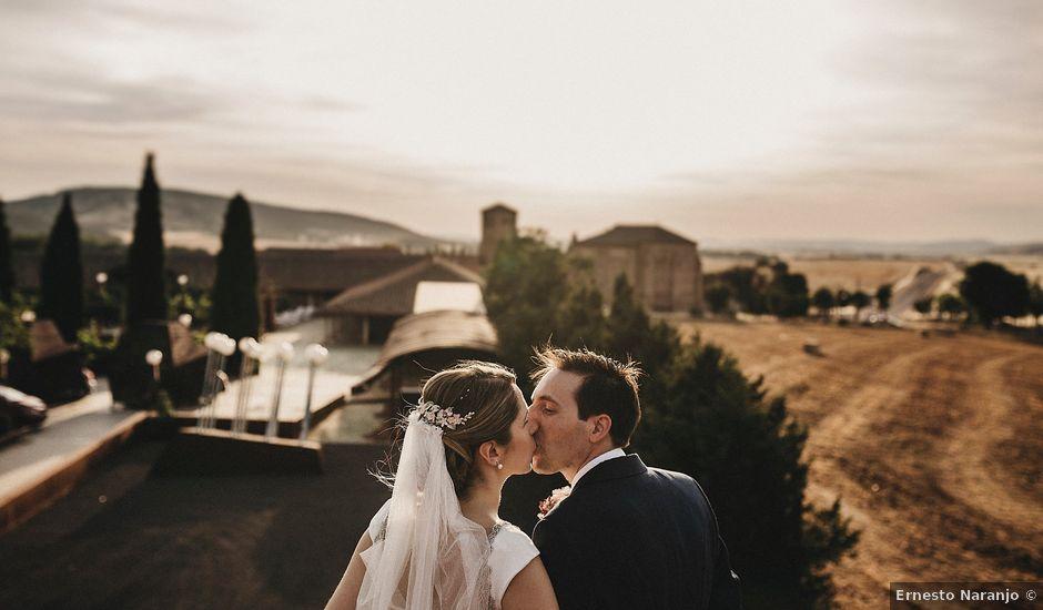 La boda de Edu y Marimar en Ballesteros De Calatrava, Ciudad Real