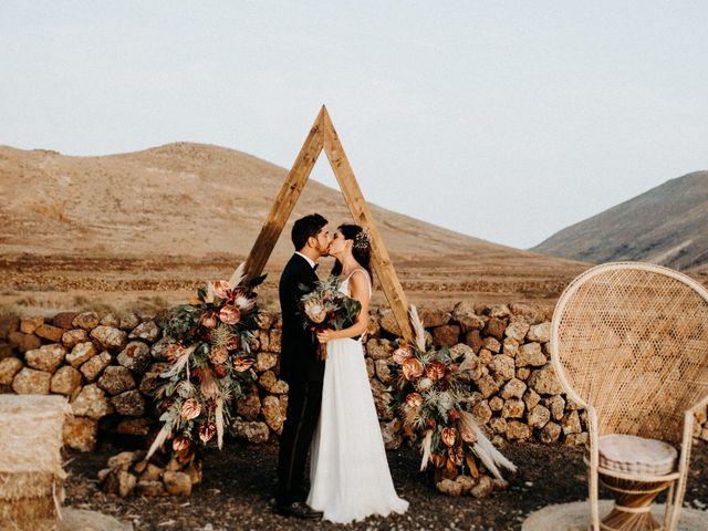 La boda de Ale y Bea en La Oliva, Las Palmas 2
