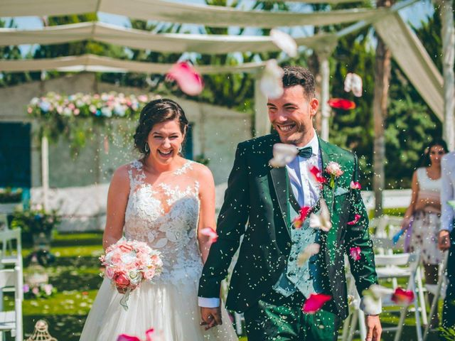 La boda de Damián Costa y Victoria Robles