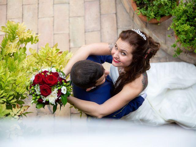 La boda de Arturo y Jessica en San Juan Mozarrifar, Zaragoza 18