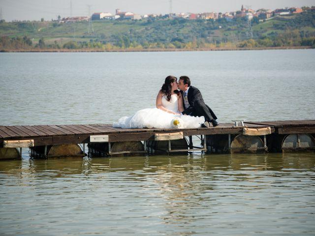 La boda de Gema y David