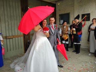 La boda de Nuria  y David