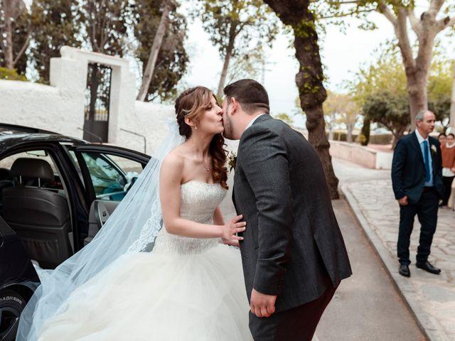 La boda de Ángel y Lorena en Castelló/castellón De La Plana, Castellón 33