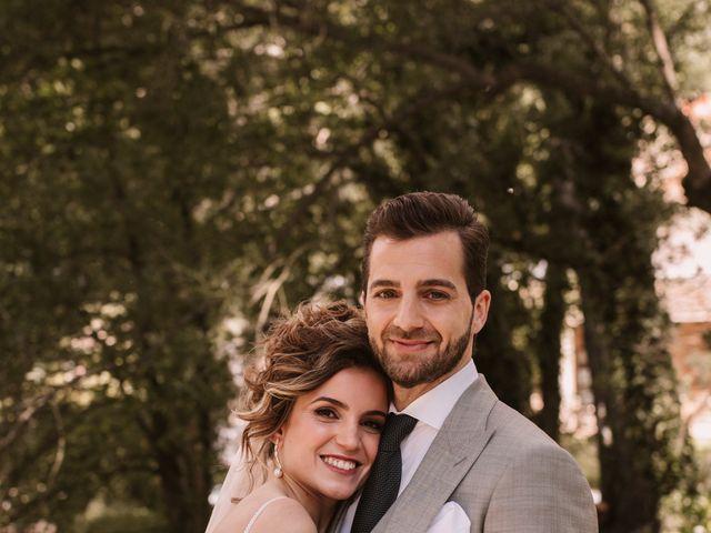 La boda de Javi y Esther en Valdastillas, Cáceres 29