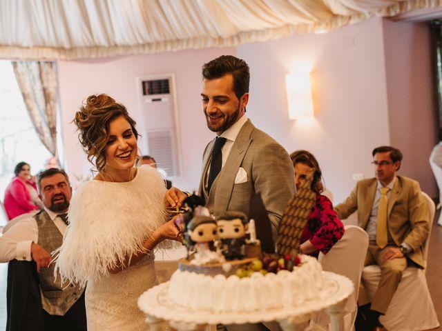 La boda de Javi y Esther en Valdastillas, Cáceres 39