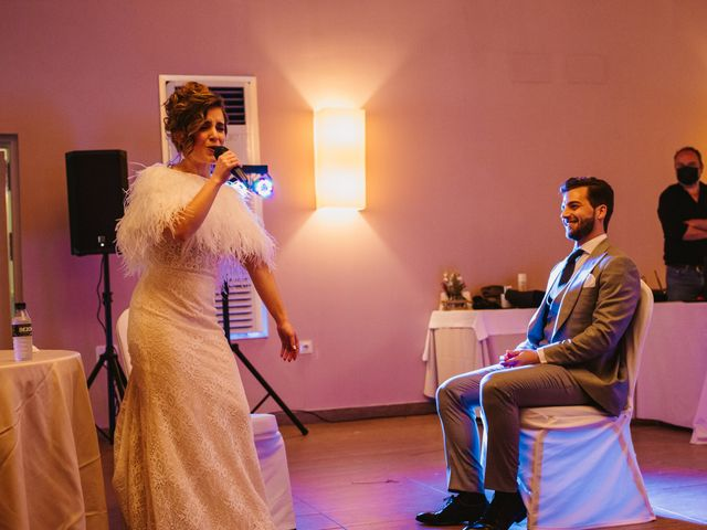 La boda de Javi y Esther en Valdastillas, Cáceres 46