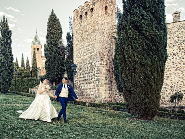 La boda de Lourdes y Daniel en Toledo, Toledo 30