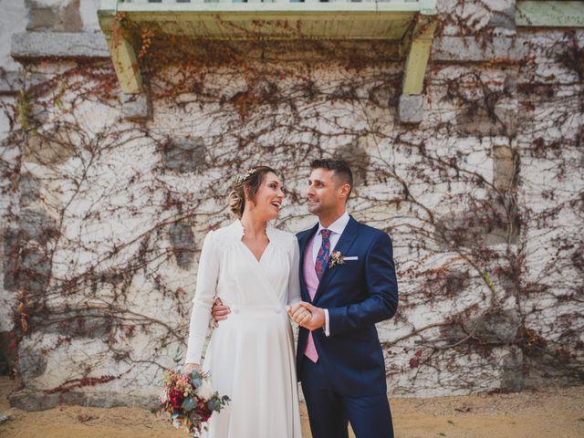 La boda de Victor y Noemí en Torrelodones, Madrid 244