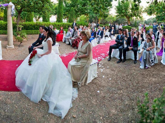 La boda de Aida y David en Villatobas, Toledo 9