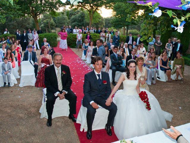 La boda de Aida y David en Villatobas, Toledo 10