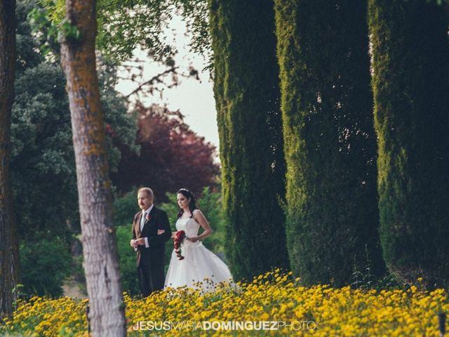 La boda de Aida y David en Villatobas, Toledo 15