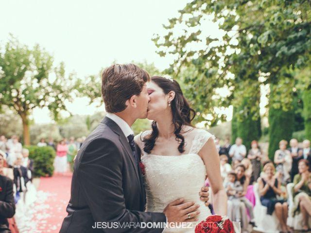 La boda de Aida y David en Villatobas, Toledo 17