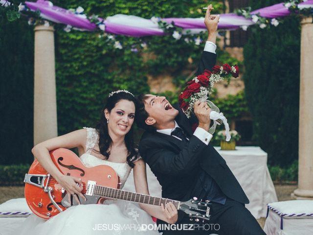 La boda de Aida y David en Villatobas, Toledo 19