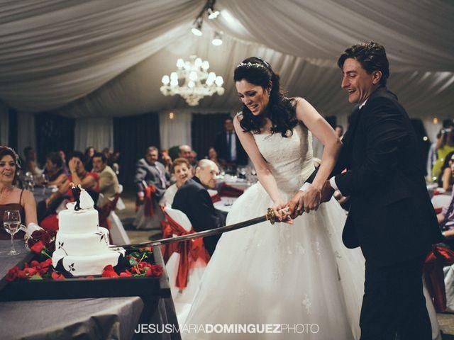 La boda de Aida y David en Villatobas, Toledo 21
