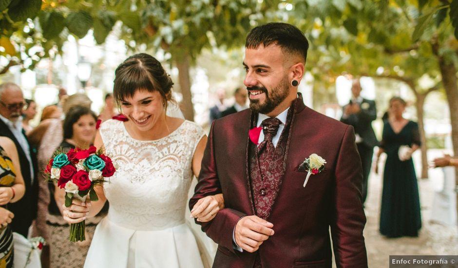 La boda de Àlex y Joana en Deltebre, Tarragona