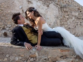 La boda de Arantxa y Santi