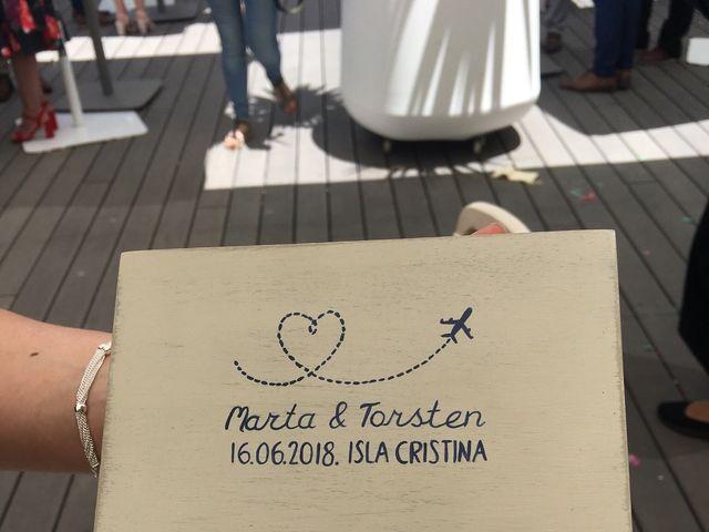 La boda de Torsten  y Marta en Isla Cristina, Huelva 6