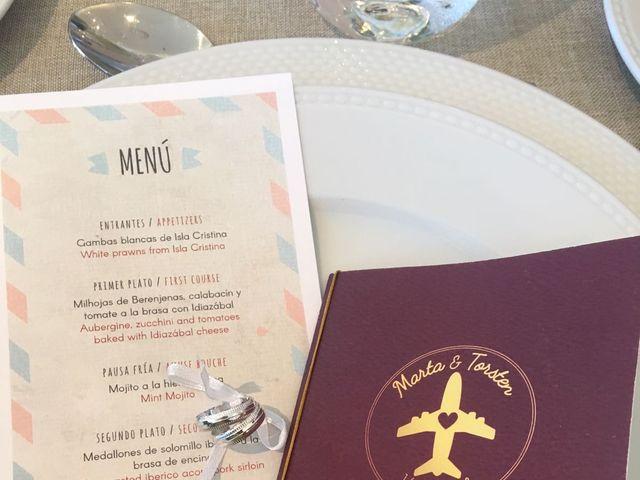 La boda de Torsten  y Marta en Isla Cristina, Huelva 14