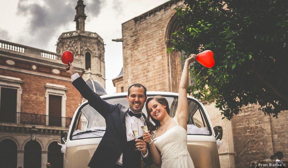 La boda de Javier y Yanna en El Puig, Valencia