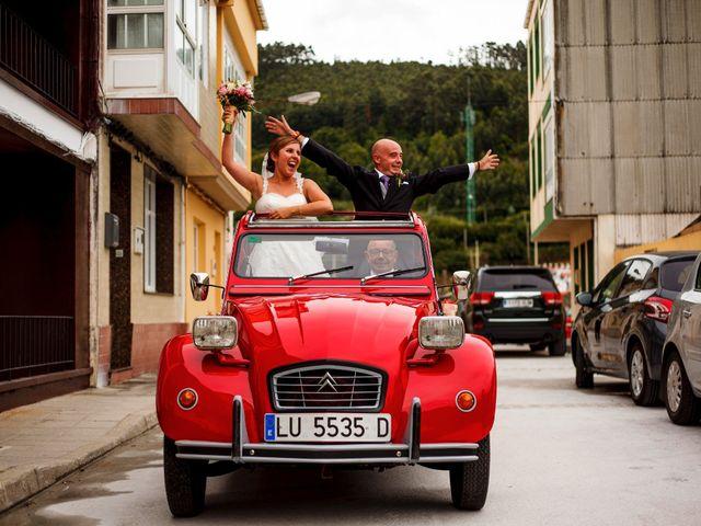 La boda de Oscar y Pati en Viveiro (Casco Urbano), Lugo 24