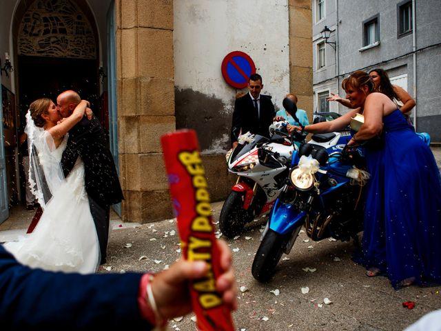La boda de Oscar y Pati en Viveiro (Casco Urbano), Lugo 25