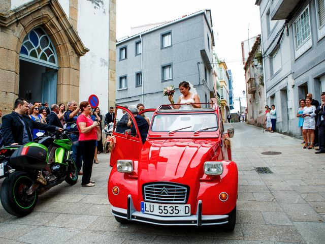 La boda de Oscar y Pati en Viveiro (Casco Urbano), Lugo 38