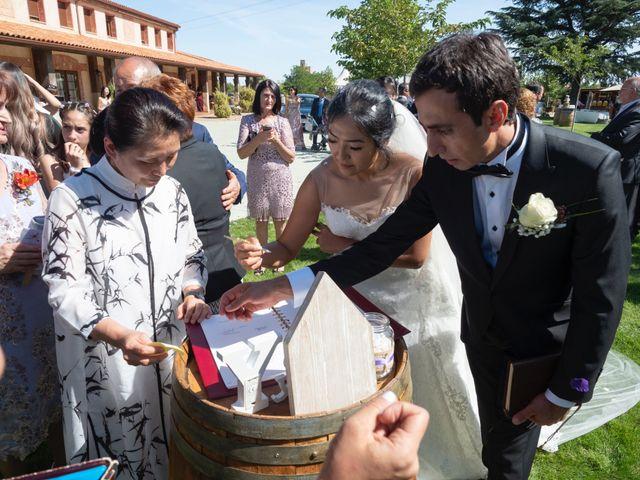 La boda de Yae y Alin en Matapozuelos, Valladolid 11