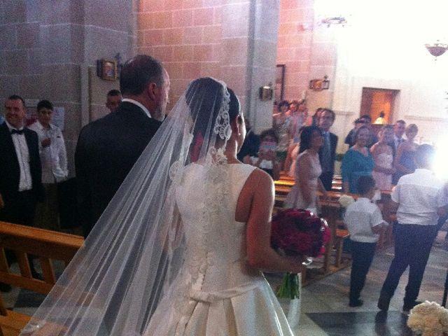 La boda de Guille y María  en Onil, Alicante 34