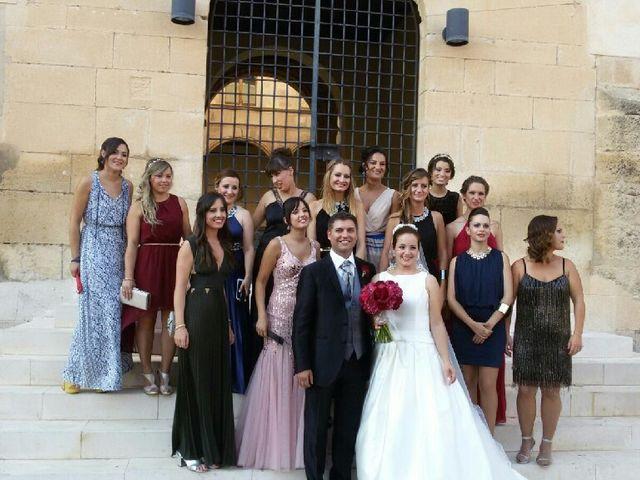 La boda de Guille y María  en Onil, Alicante 38
