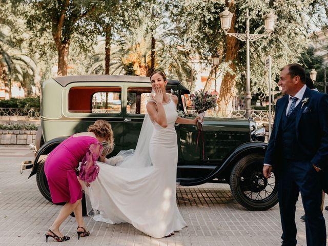 La boda de Carlos y Isabel en Caracuel De Calatrava, Ciudad Real 33