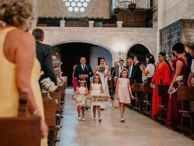 La boda de Carlos y Isabel en Caracuel De Calatrava, Ciudad Real 37