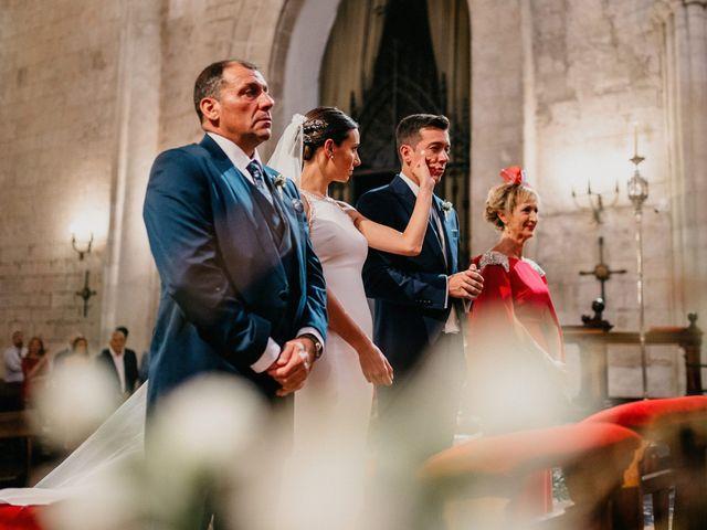 La boda de Carlos y Isabel en Caracuel De Calatrava, Ciudad Real 42