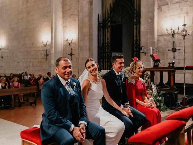 La boda de Carlos y Isabel en Caracuel De Calatrava, Ciudad Real 46