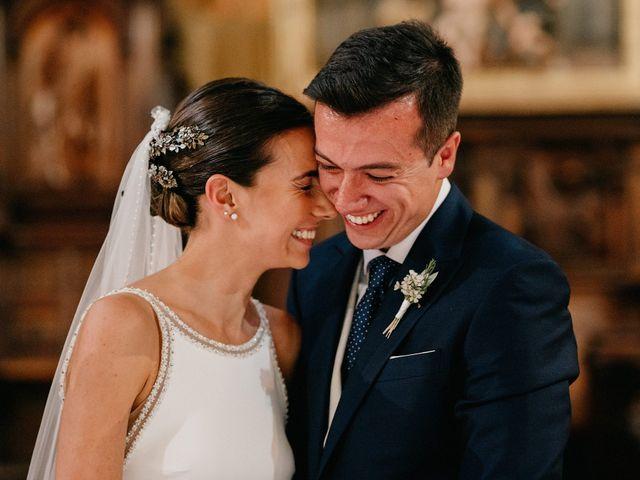 La boda de Carlos y Isabel en Caracuel De Calatrava, Ciudad Real 50