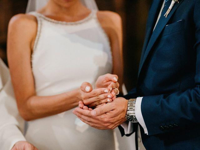 La boda de Carlos y Isabel en Caracuel De Calatrava, Ciudad Real 51