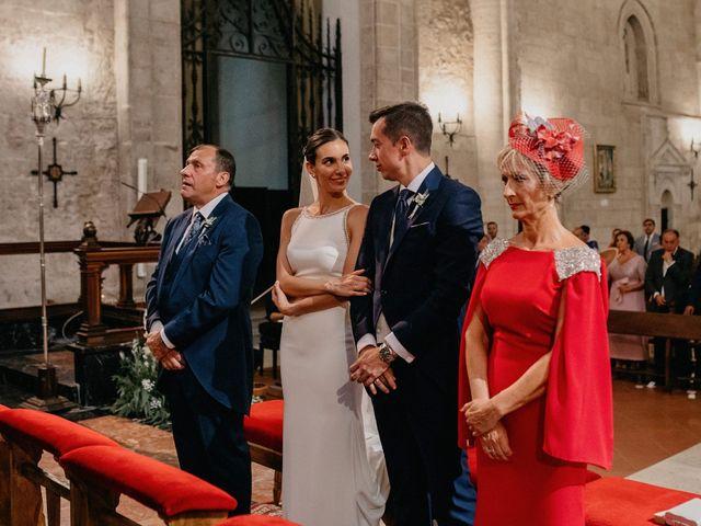 La boda de Carlos y Isabel en Caracuel De Calatrava, Ciudad Real 53