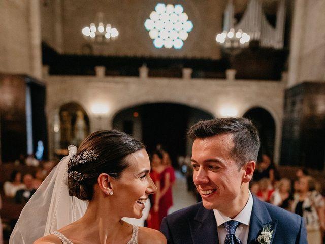 La boda de Carlos y Isabel en Caracuel De Calatrava, Ciudad Real 54