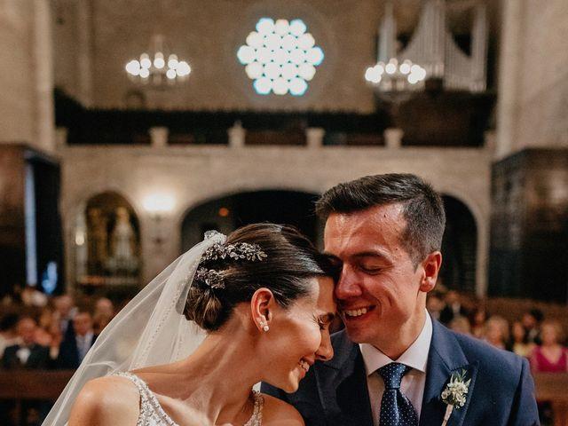 La boda de Carlos y Isabel en Caracuel De Calatrava, Ciudad Real 55
