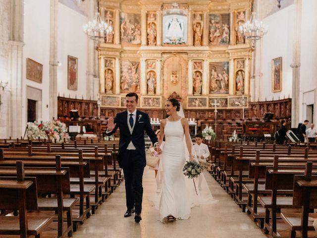 La boda de Carlos y Isabel en Caracuel De Calatrava, Ciudad Real 56