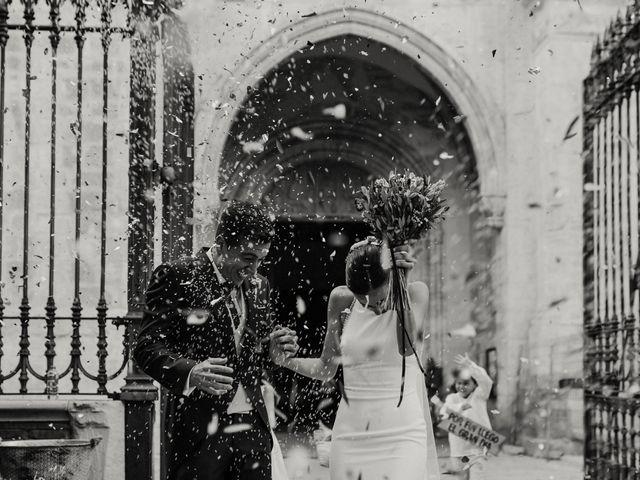 La boda de Carlos y Isabel en Caracuel De Calatrava, Ciudad Real 58