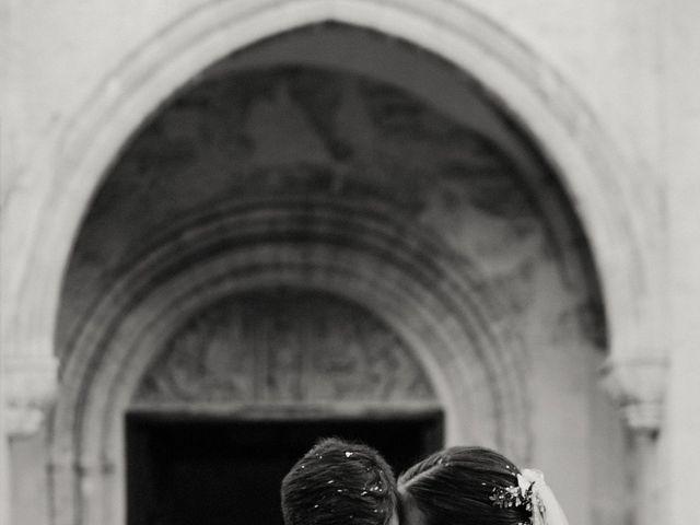 La boda de Carlos y Isabel en Caracuel De Calatrava, Ciudad Real 59