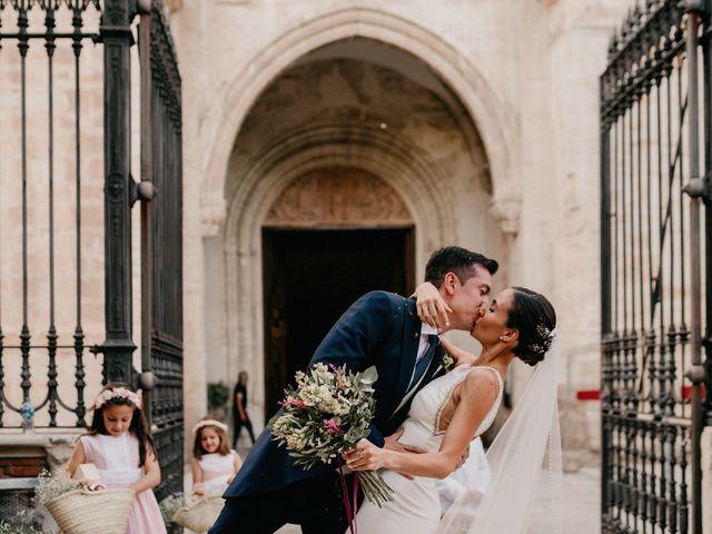 La boda de Carlos y Isabel en Caracuel De Calatrava, Ciudad Real 60