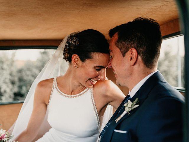 La boda de Carlos y Isabel en Caracuel De Calatrava, Ciudad Real 63