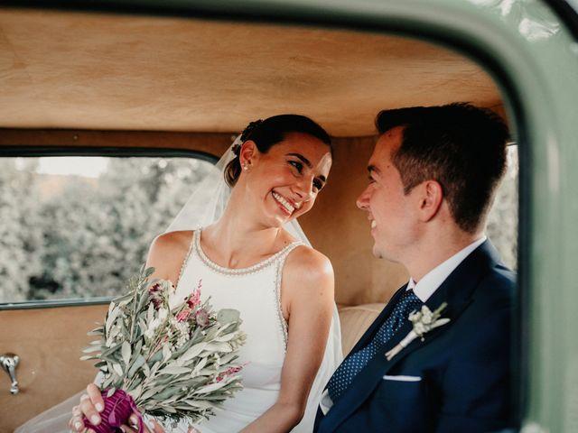 La boda de Carlos y Isabel en Caracuel De Calatrava, Ciudad Real 64