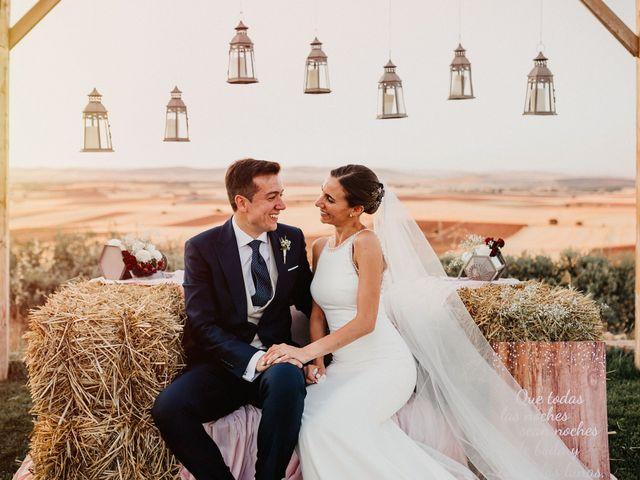 La boda de Carlos y Isabel en Caracuel De Calatrava, Ciudad Real 66
