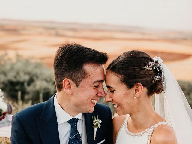 La boda de Carlos y Isabel en Caracuel De Calatrava, Ciudad Real 67