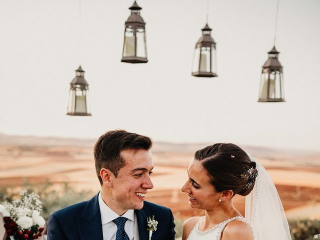 La boda de Carlos y Isabel en Caracuel De Calatrava, Ciudad Real 68
