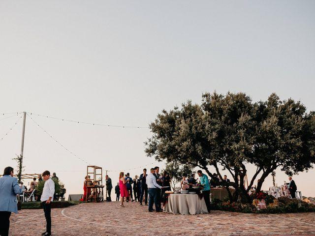 La boda de Carlos y Isabel en Caracuel De Calatrava, Ciudad Real 69