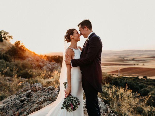 La boda de Carlos y Isabel en Caracuel De Calatrava, Ciudad Real 70